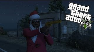 gta 5 christmas party gone wrong   ft girl just gaming yabboylit tv