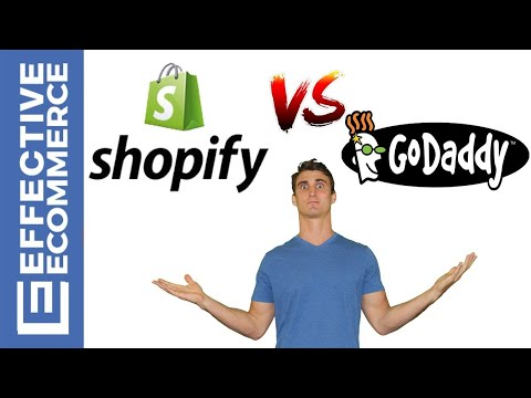 Shopify vs Godaddy Pros and Cons Review Comparison thumbnail