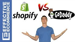 Shopify vs Godaddy Pros and Cons Review Comparison