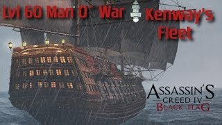 AC4 Black Flag Getting the Strongest Man O' War onto your fleet
