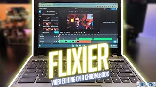 Flixier - Professional Video Editing on a Chromebook!