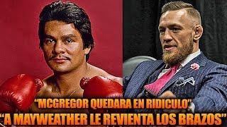 """Roberto Duran: McGregor le revienta los brazos a Mayweather, Floyd Sr """"Voy a vencerte yo mismo"""""""