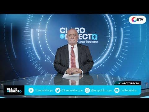 Toledo habla | Claro y Directo con Augusto Álvarez Rodrich