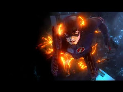 The Flash stops singularity | Ronny's death scene HD (S02e01)