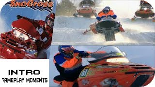 Polaris SnoCross - Intro & Gameplay Moments Playstation HD