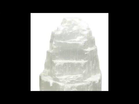 Healing Crystals Selenite Information Video