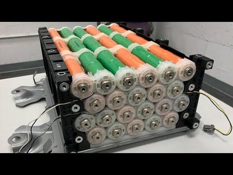 Honda IMA Hybrids Part 2 - HV Battery and Battery Junction Board