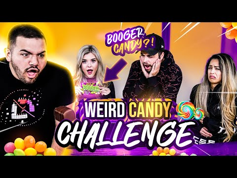 We Tried The Internet's Weirdest Candy Ft. CouRage, Nadeshot, Valkyrae, BrookeAB