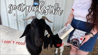 My Goats Pick My June TBR!