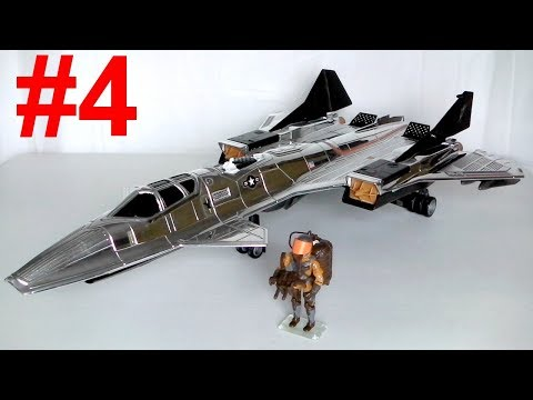 1990 Sky Patrol: Drop Zone & Sky Raven G.I. Joe review (4 of 4)