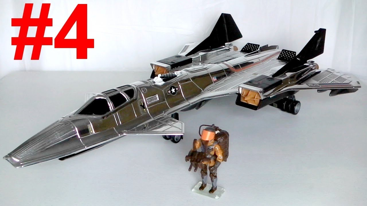 Grey 1984 G.I Joe Sky Hawk Missile