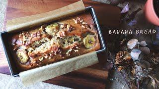 BEST MOIST BANANA BREAD RECIPE || How To Make Easy Banana Bread Without Mixer