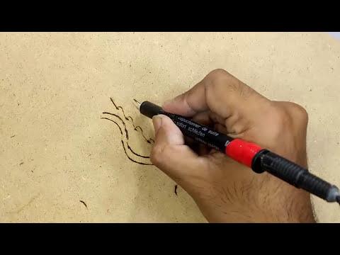 diy Pyrography pen ,  how to make pyrography pen , homemade pyrography pen
