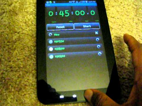 Galaxy tab Screen Capture. How to take screenshots in Galaxy tab.