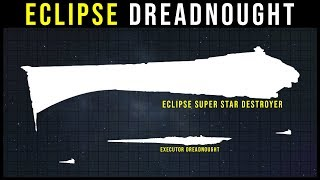 The REAL size of the Eclipse Super Star Destroyer | Star Wars Legends Lore