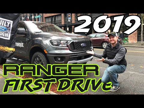 Test DRIVING the 2019 #Ford #RANGER