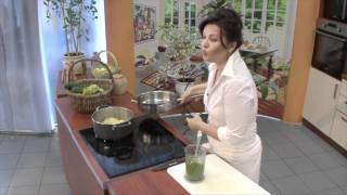 Любимые рецепты. Спагетти с  соусом из брокколи.