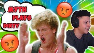 LOGAN PAUL TRASH TALKS ABOUT MYTH AND NADESHOT STRAIGHT 10 MINUTE!!   LOGAN PAUL PLAYS IN TOURNAMENT