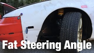 240sx Drift Build Episode 25 Steering Angle Mods