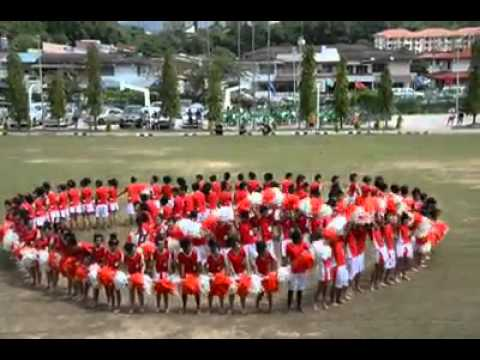 sabah tshung tsin secondary school red house danceannual sports meet 2012 youtube - Red House 2016