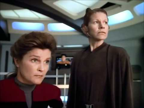 Scientific Method - Janeway gets rid of hostile aliens