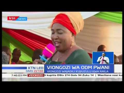 Viongozi wa Pwani wasema Raila angali \'kijana mdogo\' sana kisiasa, ana uzoefu tele