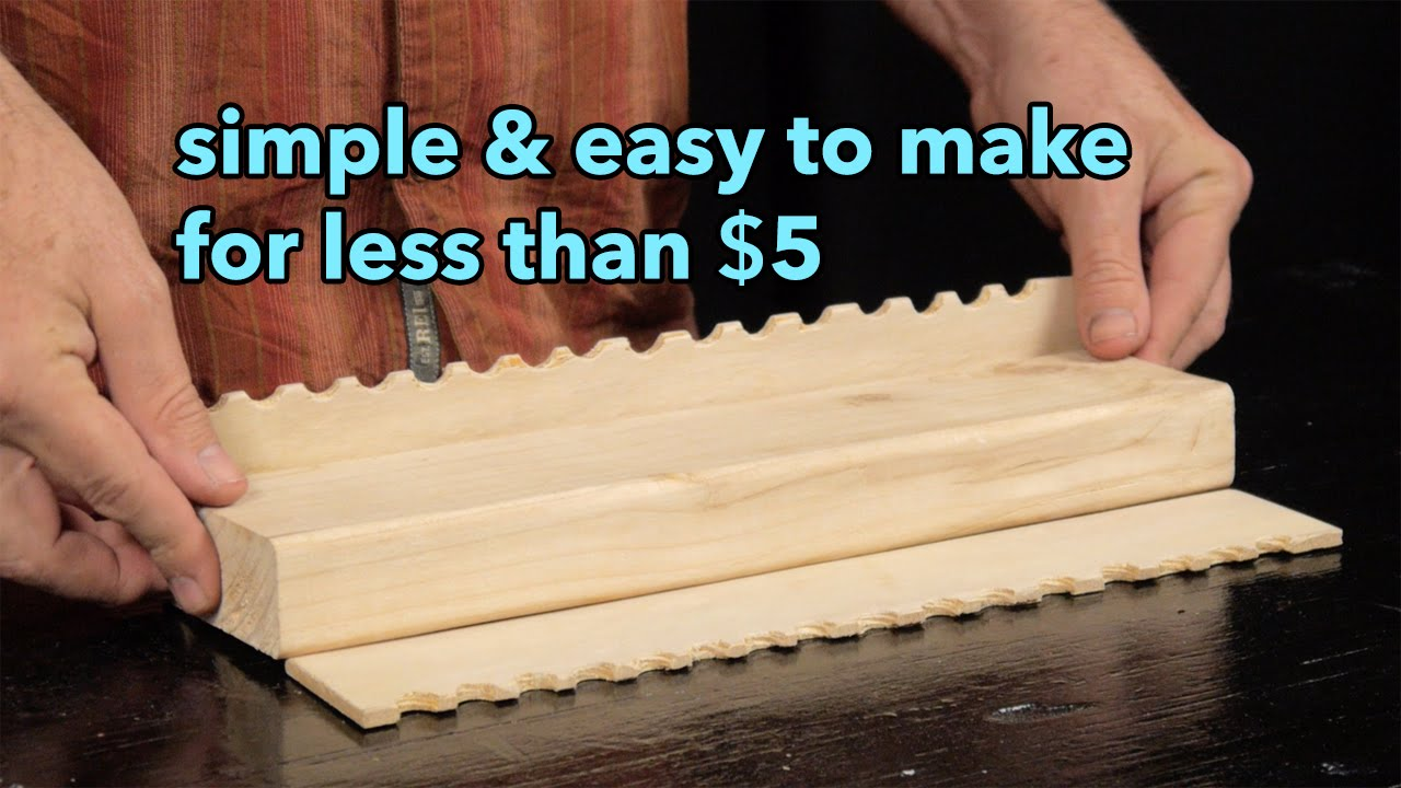 how to make a great artists\' brush holder for less than $5 - YouTube