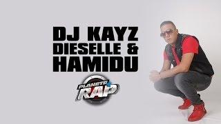 Dieselle et Hamidu en live dans le Planète Rap de Dj Kayz