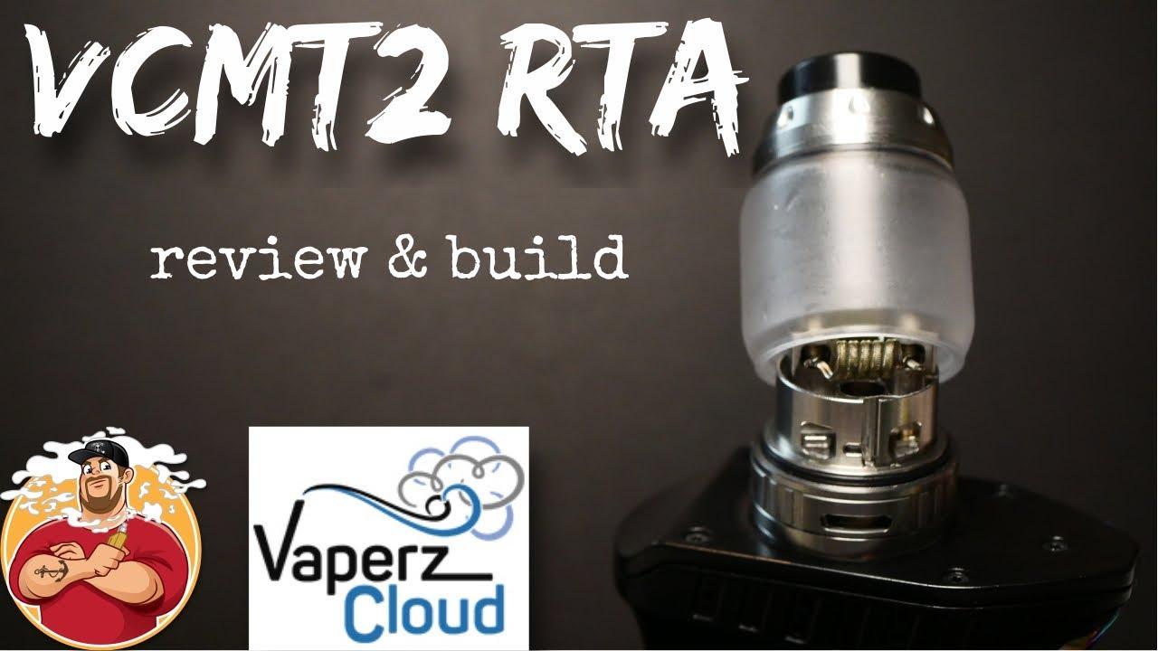 VCMT2 RTA by Vaperz Cloud Review & Build | Better Then Reload RTA?