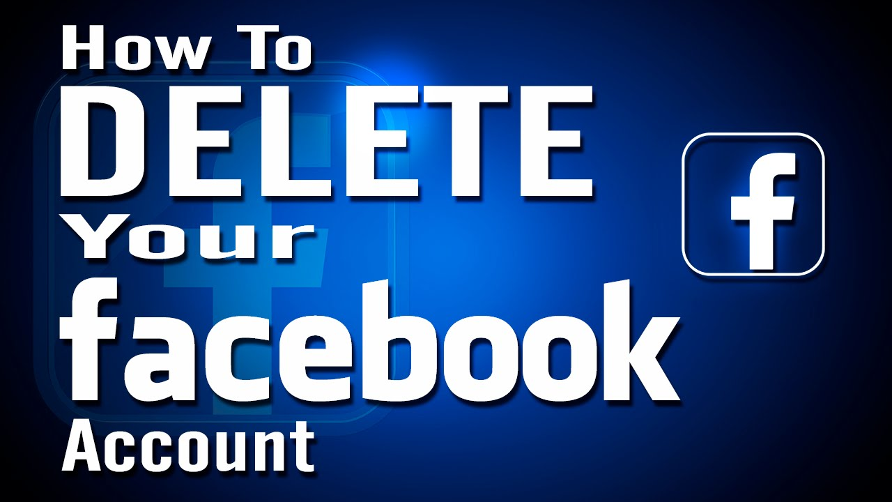 How to delete your facebook account permanently youtube ccuart Image collections