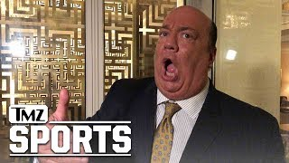 WWE Legend Paul Heyman Says Brock Lesnar Will Kick Francis Ngannou's Ass | TMZ Sports