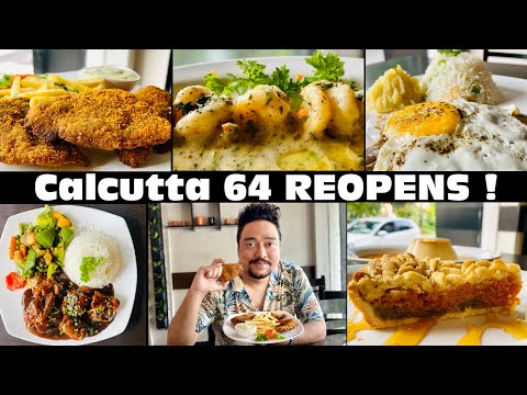 Calcutta 64 Post Lockdown | All You Need To Know | Rated Among Top 3 Cafe's in Kolkata |
