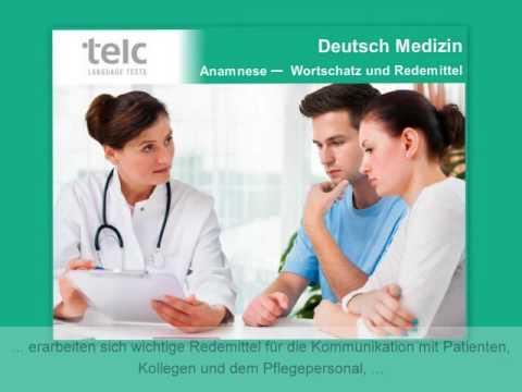 Online Training Deutsch B2 C1 Medizin Youtube