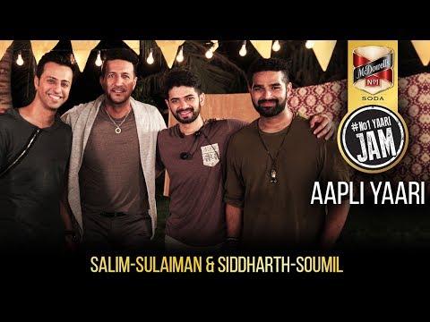 Aapli Yaari | Salim-Sulaiman | Siddharth-Soumil | Marathi Song | #No1YAARIJAM