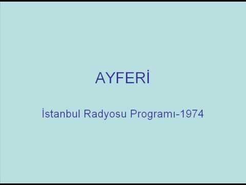 Ayferi - Bir Başkadır Memleketim / Çal Çingene Çal (1974, Live at İstanbul Radio)