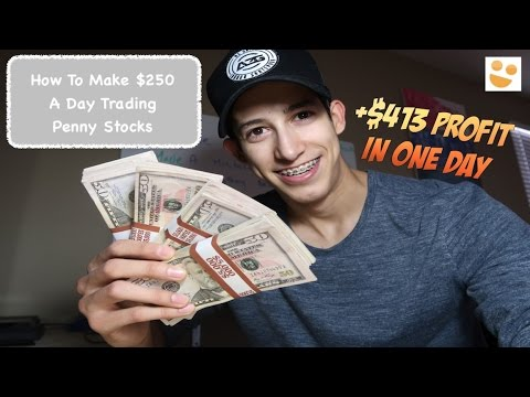 Making +$250 A Day Trading Penny Stocks: How To Trade: $NUGT, $DRYS | Episode 44