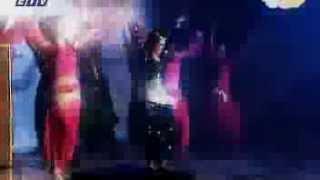 tamanna reza sangita performing at cjfb show