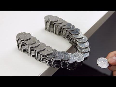 Thumbnail: How to Build Amazing Balancing Bridge out of Coins Without Glue