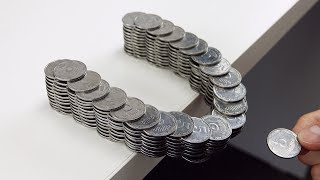 How to Build Amazing Balancing Bridge out of Coins Without Glue
