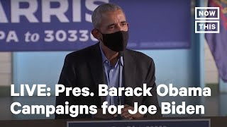 Pres. Barack Obama Joins a Roundtable Discussion in Philadelphia | LIVE | NowThis