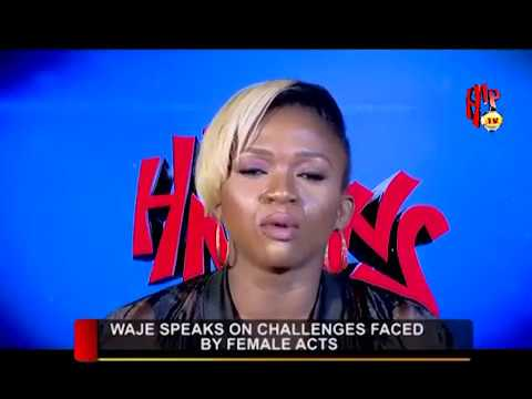 WAJE SPEAKS ON CHALLENGES FACED BY FEMALE ACTS (Nigerian Entertainment News)