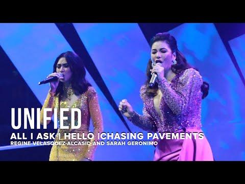 Sarah Geronimo & Regine Velasquez Perform Adele's Top Hits At UNIFIED Concert | One Music PH