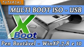 Pendrive Multi Boot c/ Xboot - Bootável