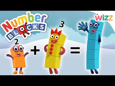Numberblocks - Learn To Count | Adding Numbers
