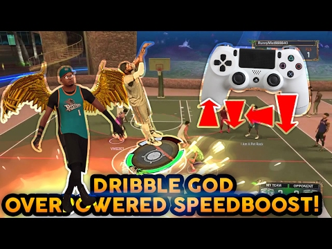 NEW OVERPOWERED SPEEDBOOST DRIBBLE MOVE ! TELEPORT ANYWHERE ! NBA 2K17 MyPARK BEST DRIBBLE GOD