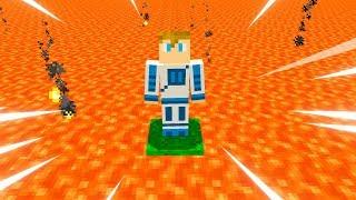 Gdyby w Minecraft wszędzie była lawa... [CHALLENGE]
