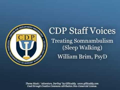 CDP Podcast Treating Somnambulism