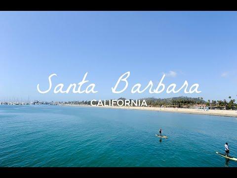 Santa Barbara // Travel Vlog CALIFORNIA, USA
