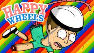 MOMENTI EPICI SU HAPPY WHEELS! - [SPECIALE A CASO!]