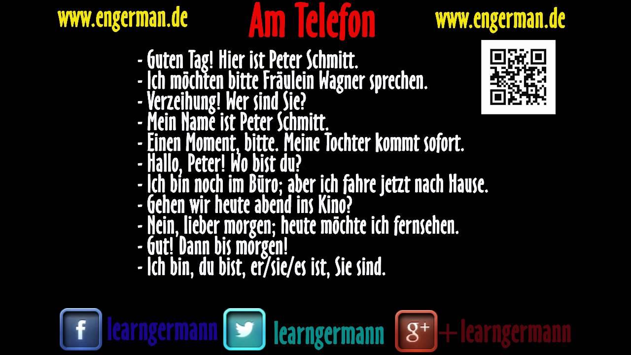 telefon deutsch